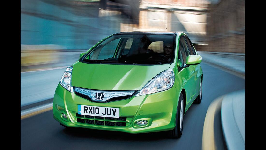 Honda Jazz, Frontansicht