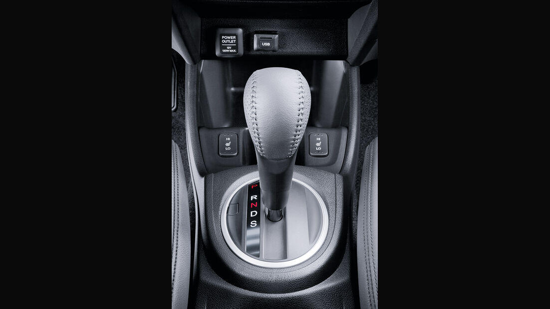 Honda Jazz Hybrid, Automatik-Wählhebel, CVT