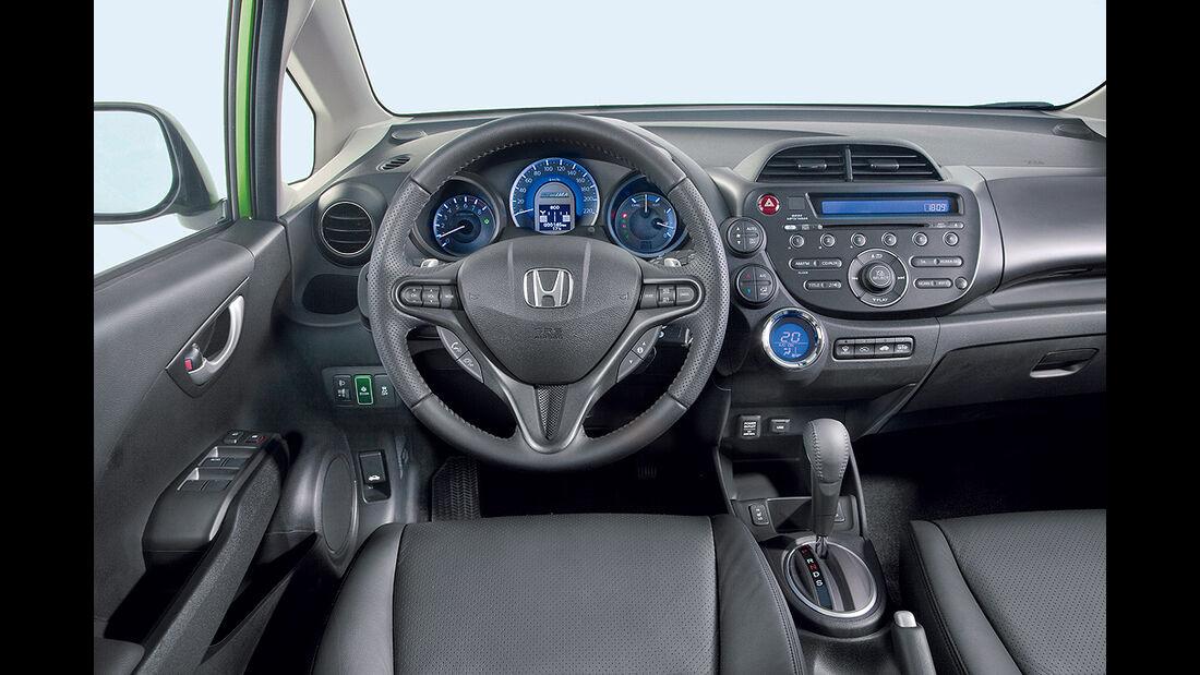 Honda Jazz Hybrid, Innenraum, Cockpit