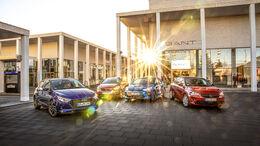 Honda Jazz, Hyundai i20, Kia Rio, Opel Corsa
