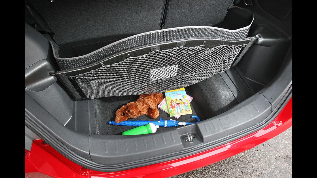 Honda Jazz, Kofferraum