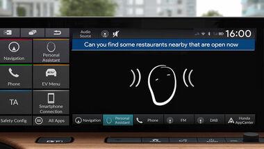 Honda Konnektivität App Assistant