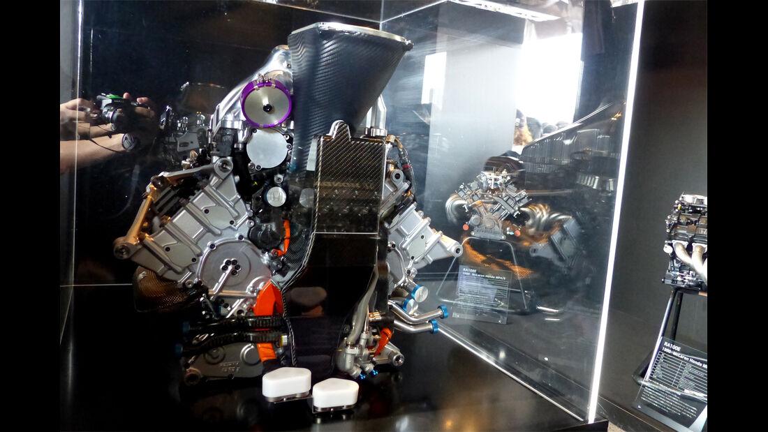 Honda-Motor - Formel 1 - GP Japan - Suzuka - 26. September 2015