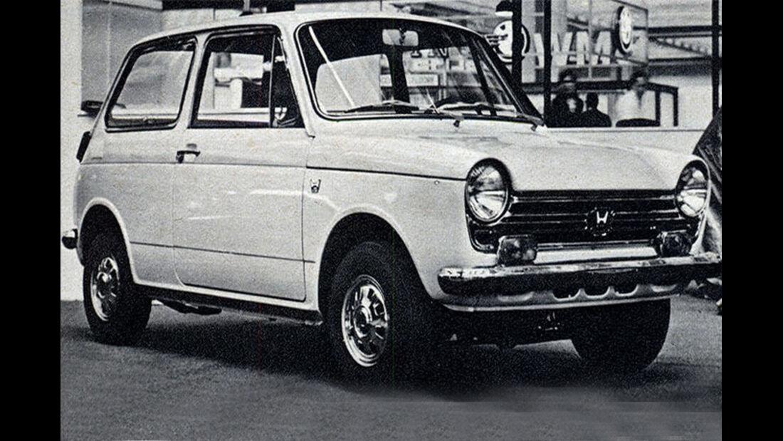 Honda, N 600, IAA 1967