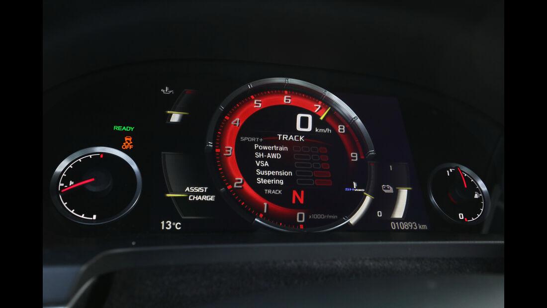 Honda NSX, Anzeigeinstrument