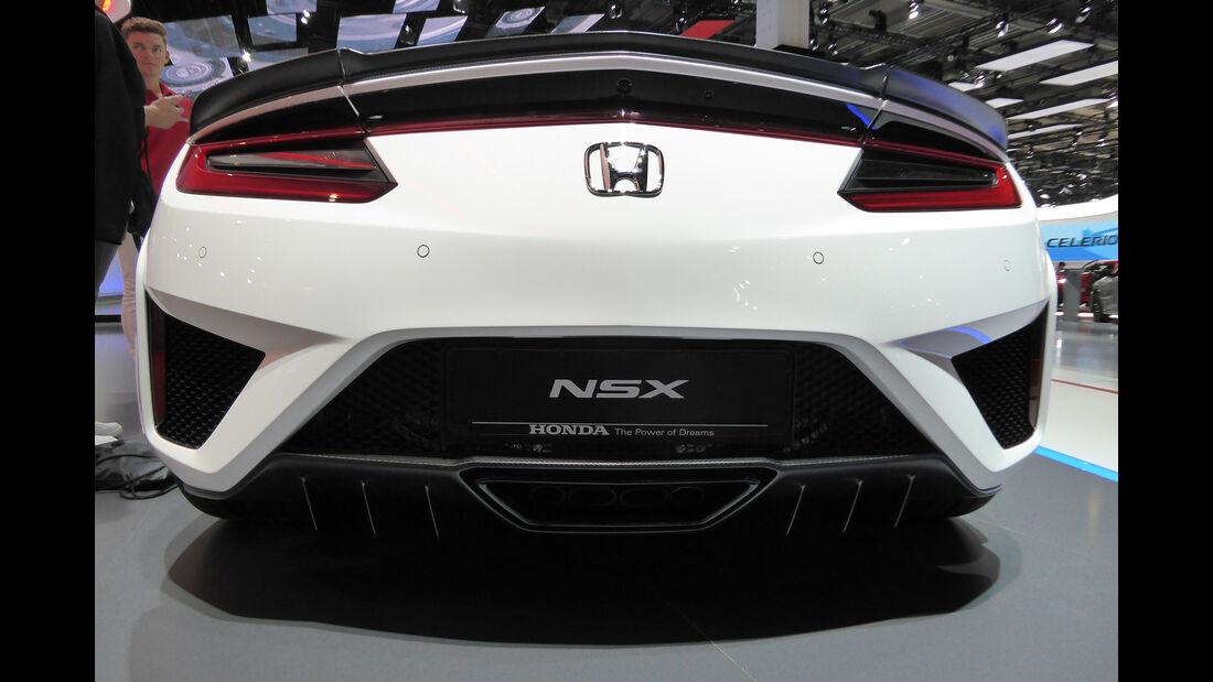 Honda NSX - Auspuff - IAA Frankfurt 2017