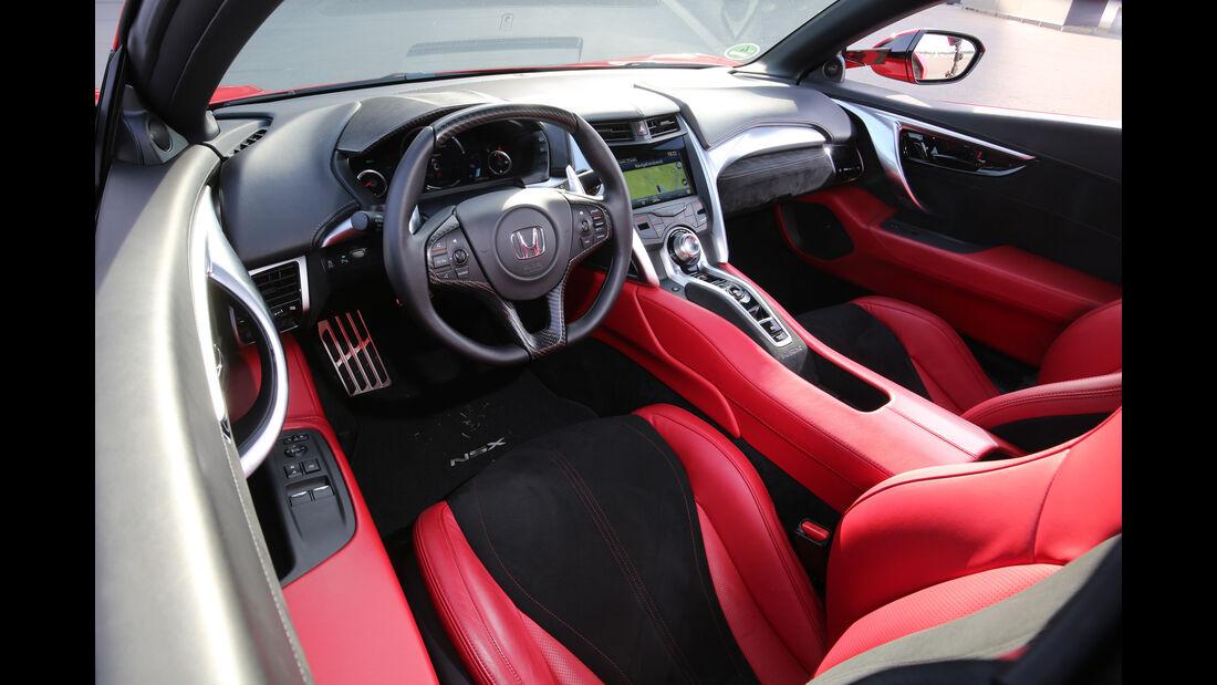 Honda NSX, Cockpit