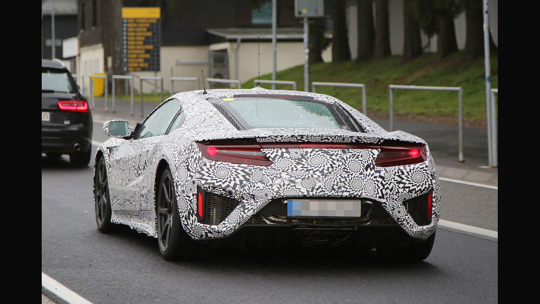 Honda NSX Erlkönig