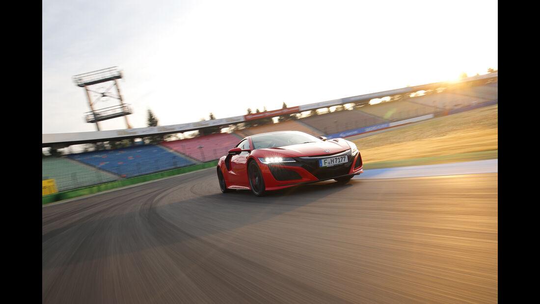 Honda NSX, Frontansicht