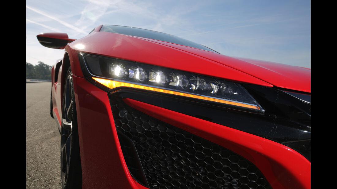Honda NSX, Frontscheinwerfer