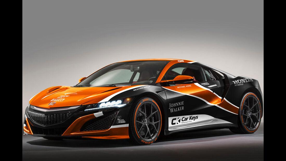 Honda NSX - McLaren MCL32 - Lackierung