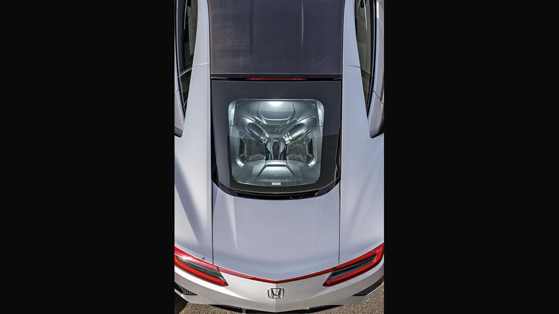 Honda NSX, Motor