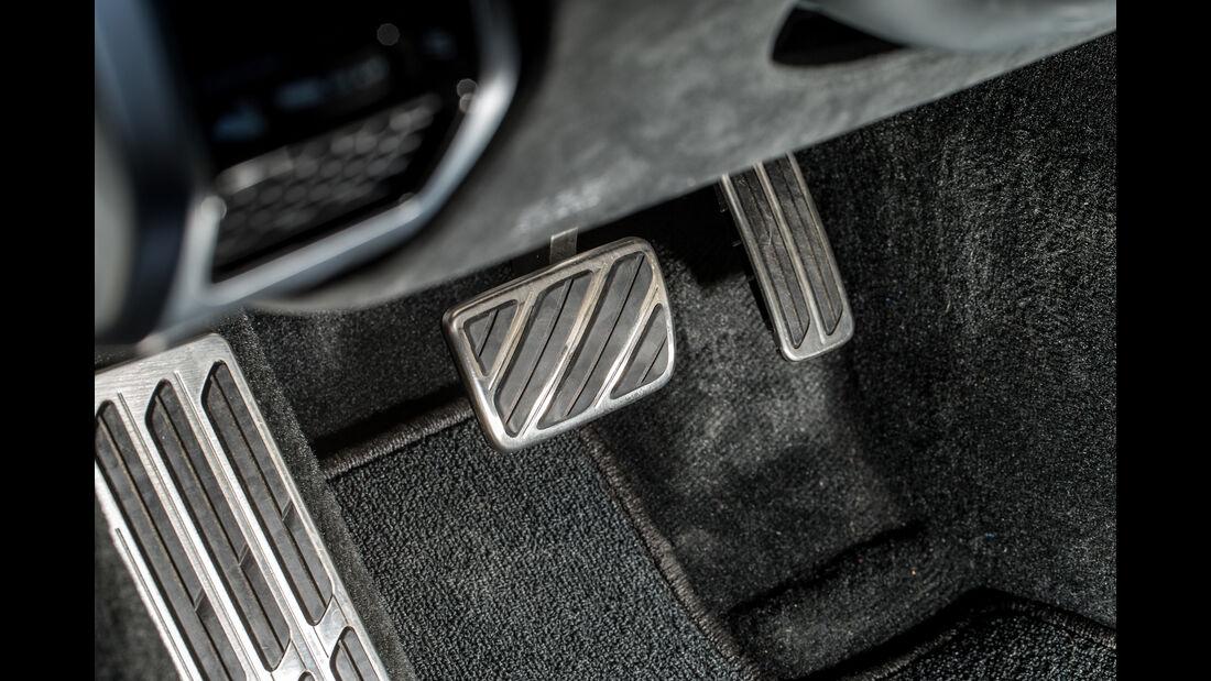 Honda NSX, Pedalerie