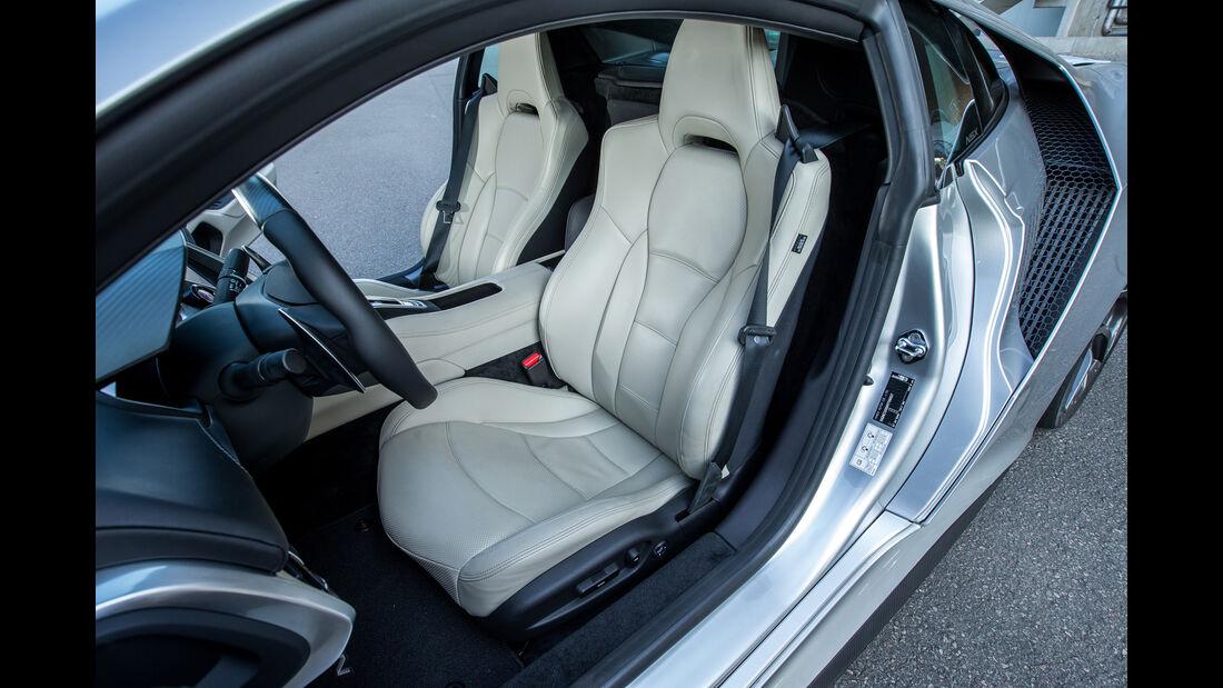 Honda NSX, Sitze