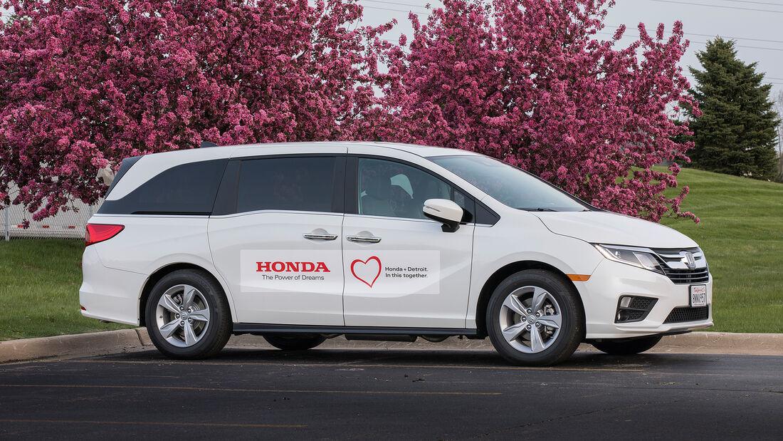 Honda Odyssey Covid-19 Testing