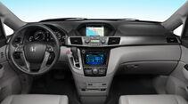 Honda Odyssey Touring Elite, Innenraum, Cockpit