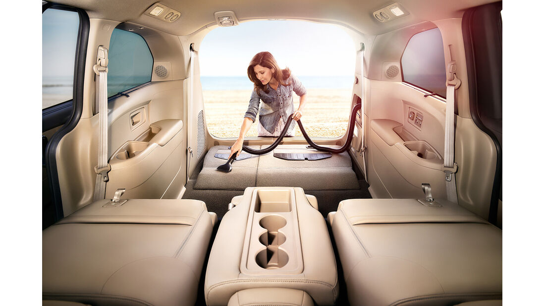 Honda Odyssey Touring Elite, Innenraum, Staubsauger