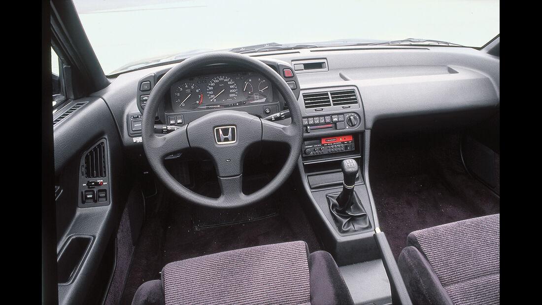 Honda Prelude 2.0i-16V, Cockpit