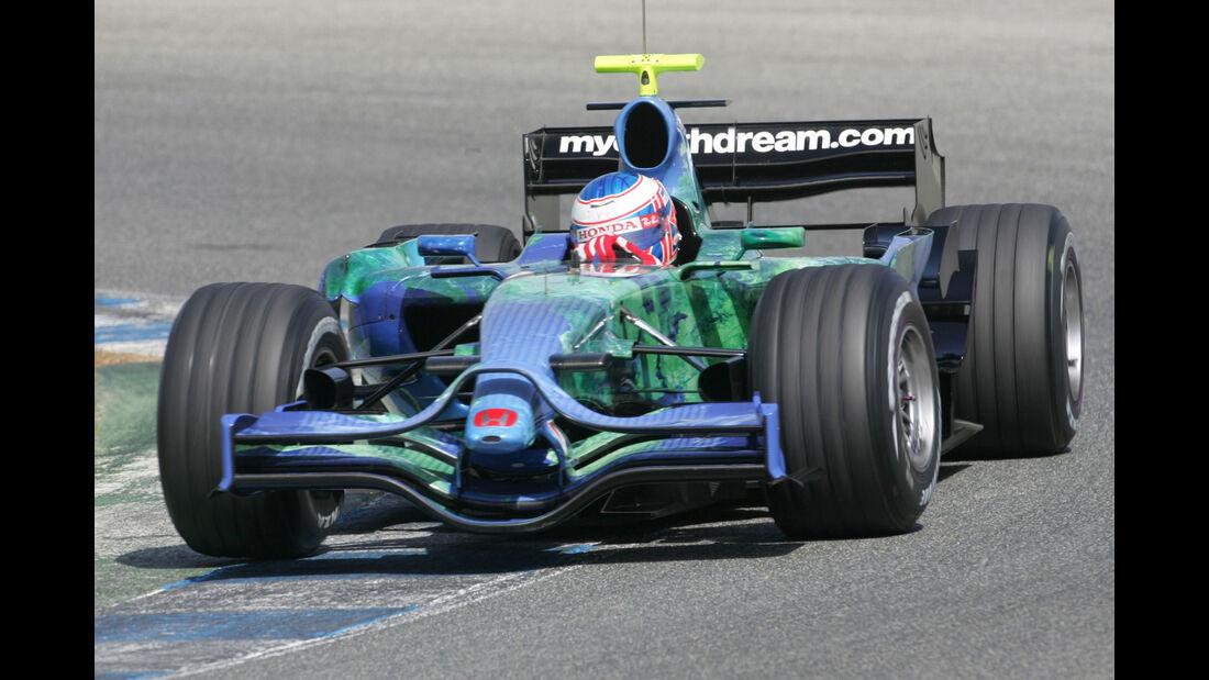 "Honda RA107 - Rennwagen - Spitzname ""Earth Car"""