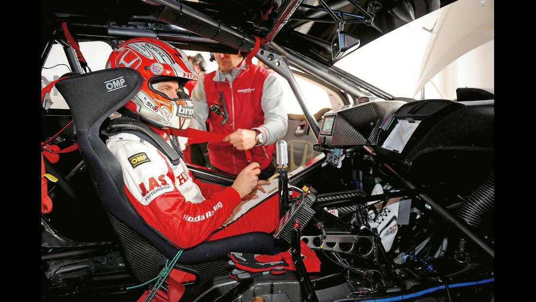 Honda Racing, Cockpit, Fahrer