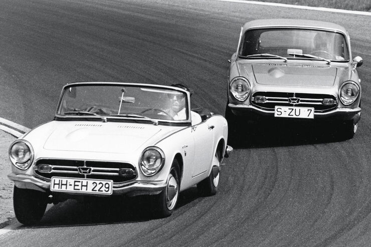 Honda S 800, Coupé, Roadster