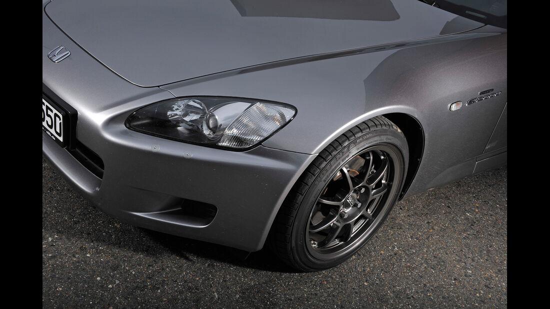 Honda S2000, Frontscheinwerfer