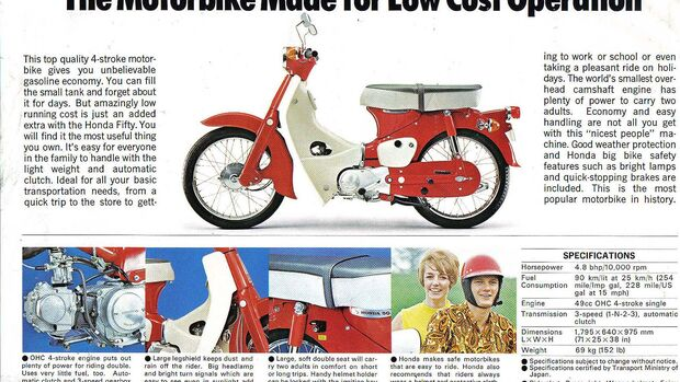 Honda USA 60th Anniversary Pickup Super Cub