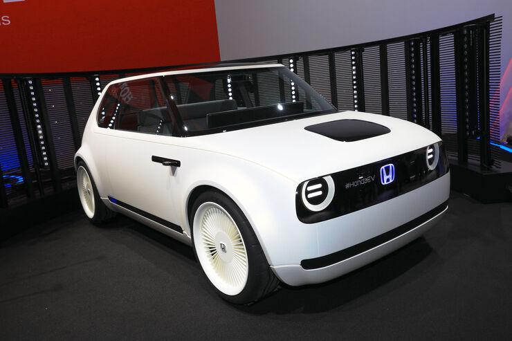 Honda Urban EV Concept: Elektro-Auto für die Stadt - auto ...