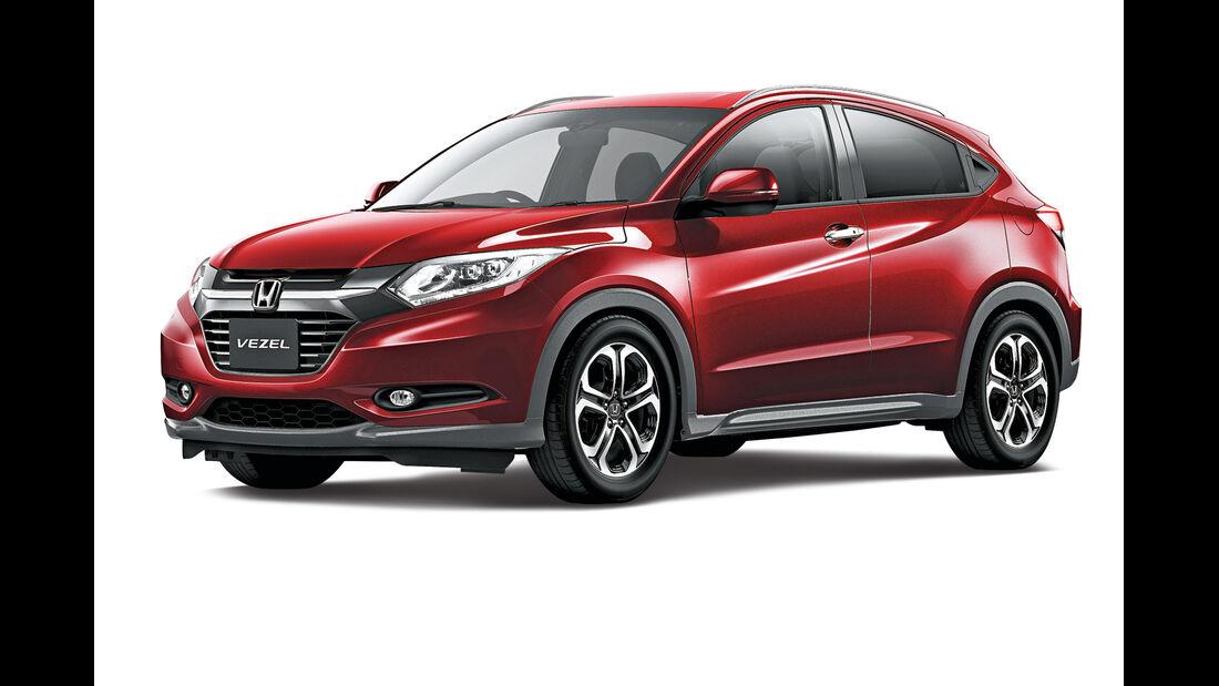 Honda Vezel, Seitenansicht