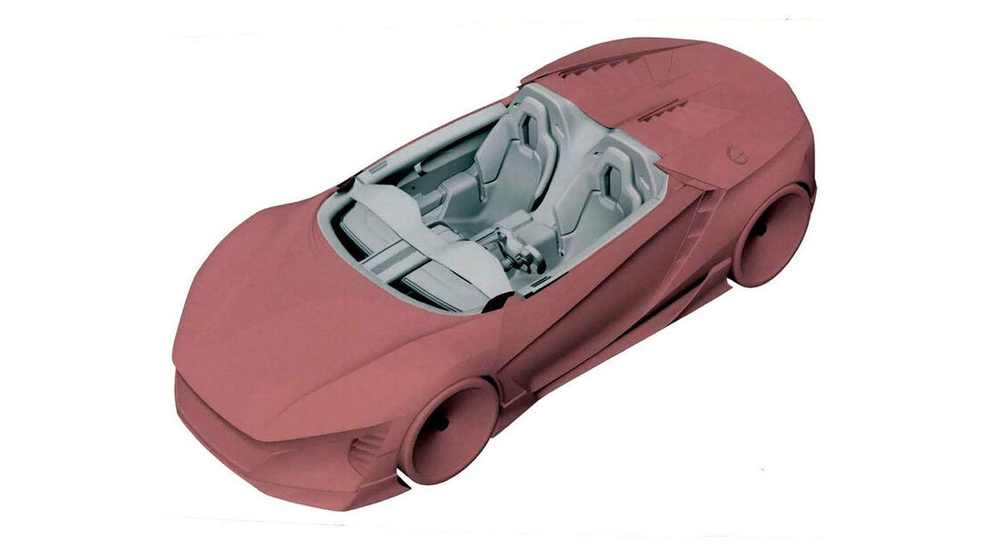 Honda Zweisitzer Prototyp