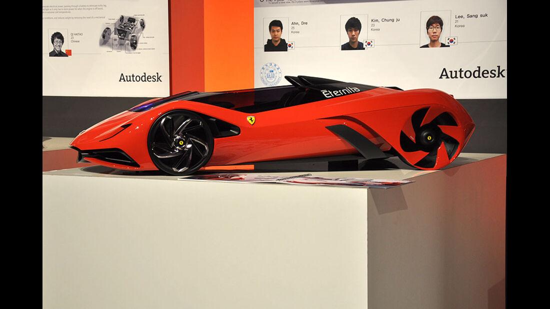 Hongik University Seoul, Ferrari World Design Contest 2011