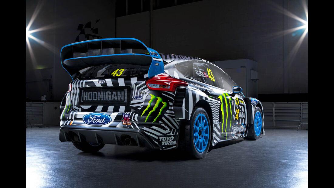 Hoonigan-Ford Focus RS, World Rallycross 2016, Ken Block, 04/2016
