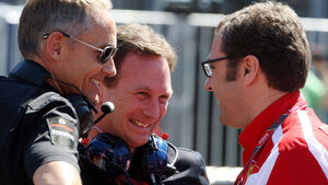 Horner, Domenicali & Whitmarsh