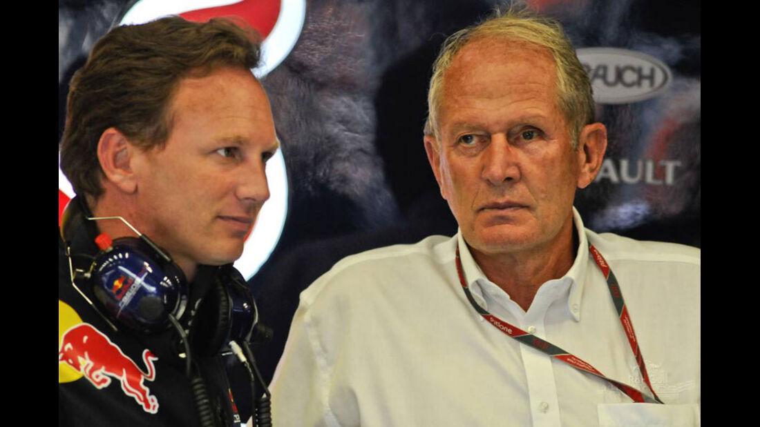 Horner & Marko - GP Belgien - 26. August 2011
