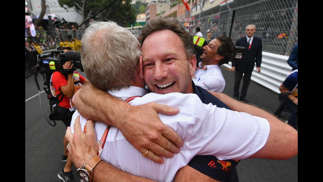 Horner & Marko - GP Monaco 2018