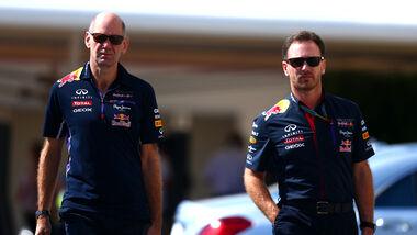 Horner & Newey - GP Abu Dhabi 2014