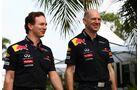 Horner Newey GP Malaysia 2011 Formel 1
