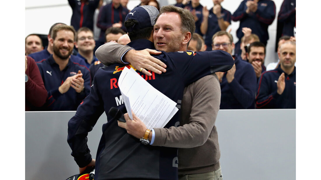 Horner & Ricciardo - F1 Winterpause 2018