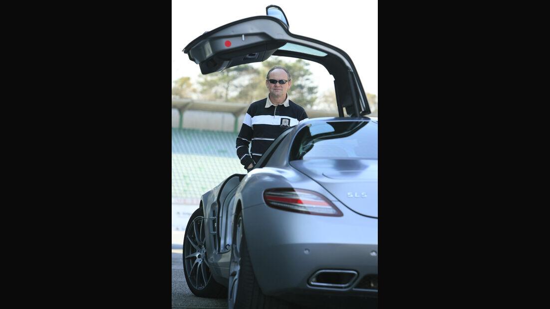 Horst von Saurma, Mercedes SLS AMG