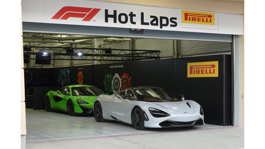 Hot Laps McLaren 720S - Formel 1 - GP  Bahrain - 4. April 2018