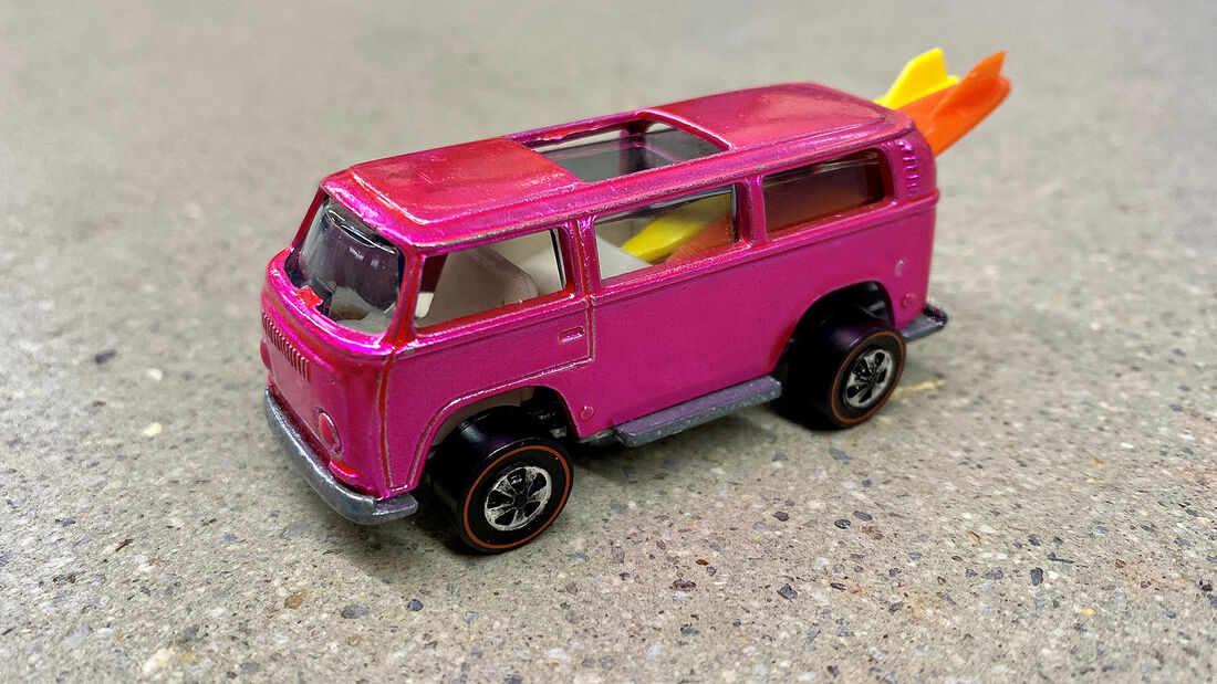 Hot Wheels Beach Bomb VW Bus