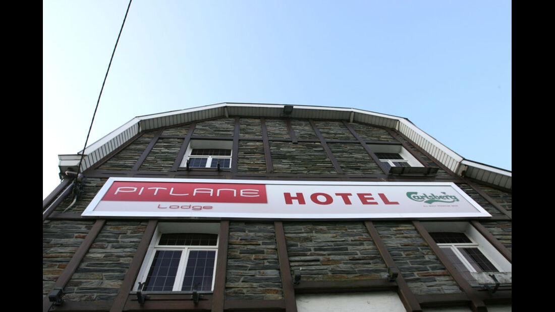 Hotel - GP Belgien - 25. August 2012