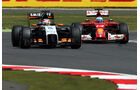 Hülkenberg & Alonso - GP England 2014