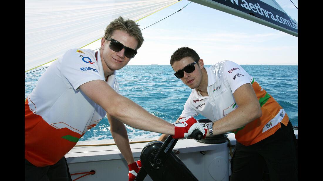 Hülkenberg & Di Resta F1 Fun Pics 2012