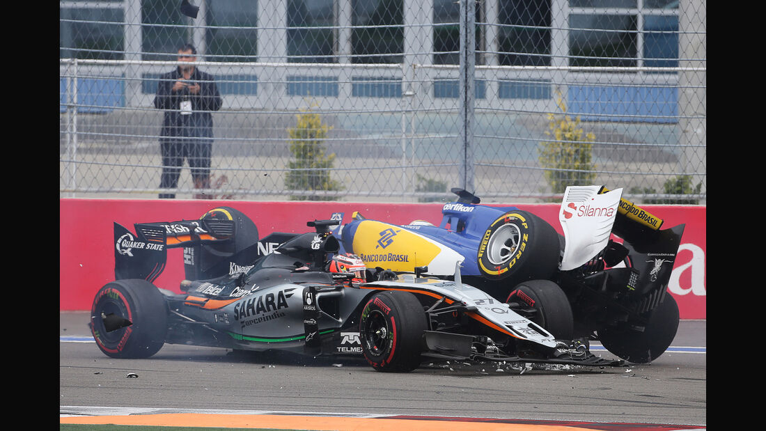 Hülkenberg & Ericsson - GP Russland 2015