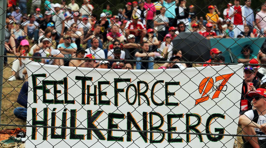 Hülkenberg-Fans - GP Spanien 2014