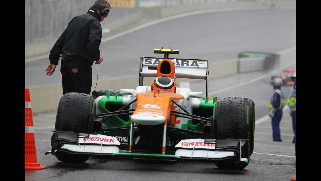 Hülkenberg Force India GP Brasilien 2012