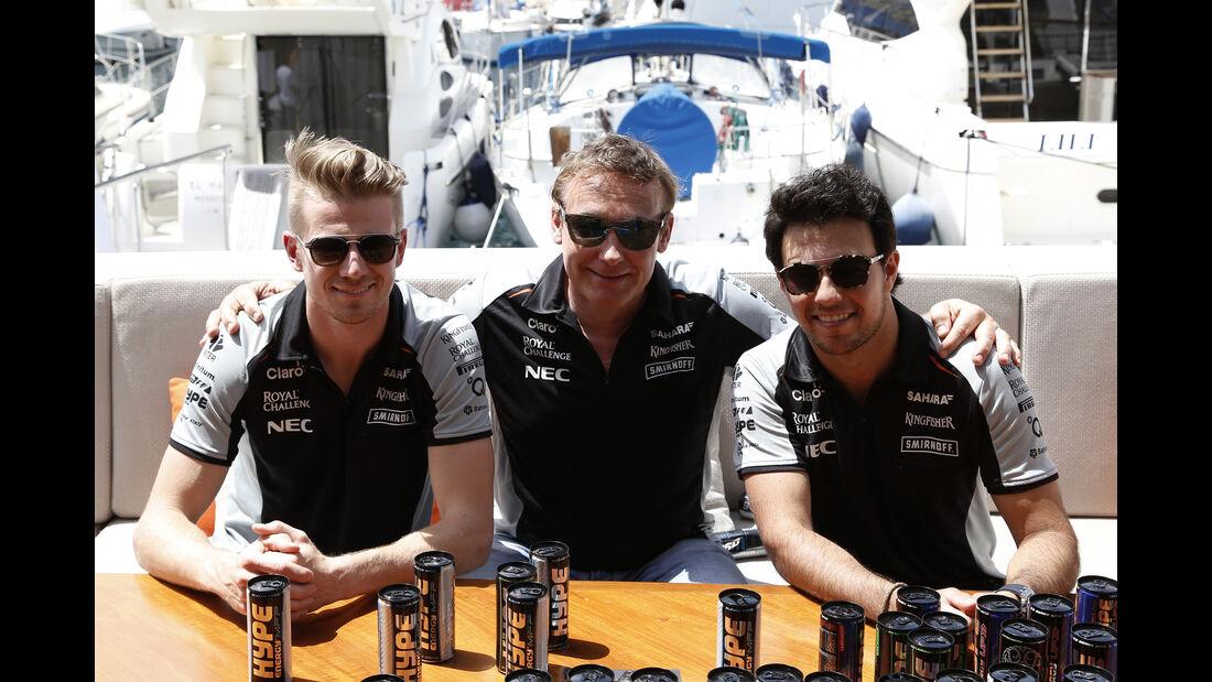 Hülkenberg, Gachot & Perez - Formel 1 - GP Monaco - 27. Mai 2016