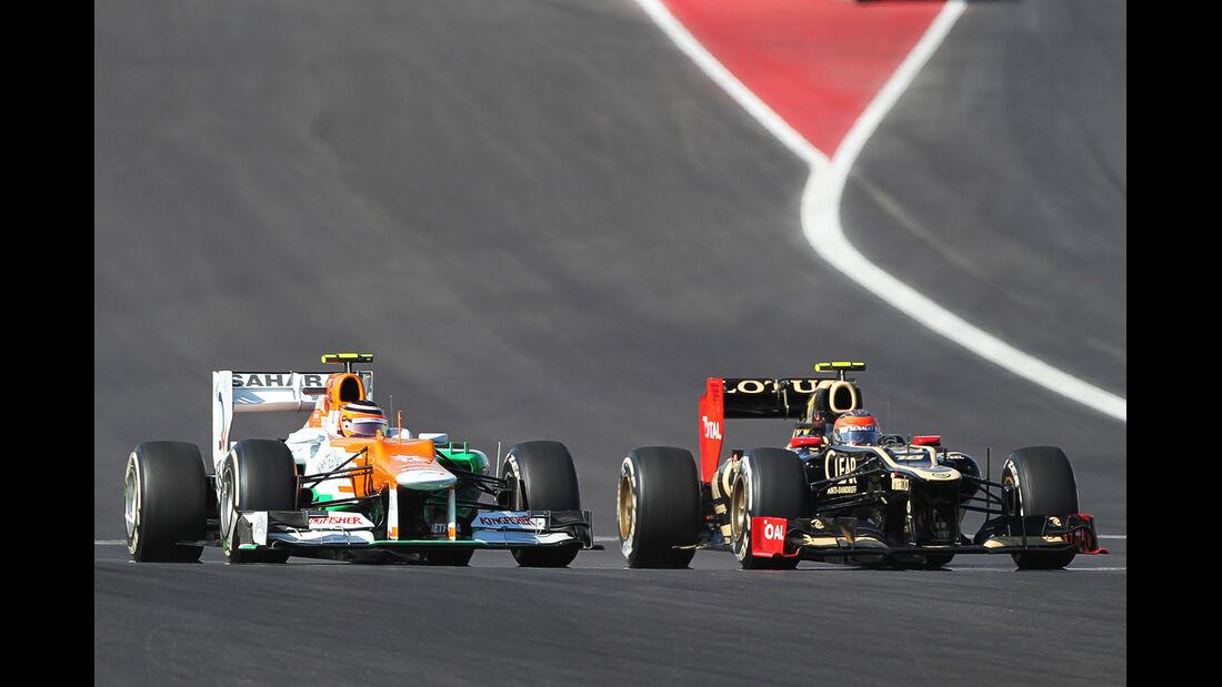 Hülkenberg Grosjean GP USA 2012