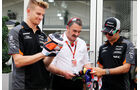 Hülkenberg, Mansell & Perez - GP Mexiko 2015